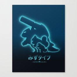 Mega Water Canvas Print