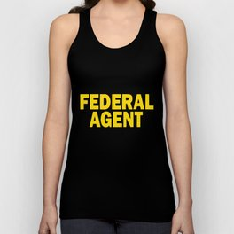 Federal Agent Police Officer Cop Atf Dea Special Usa Law T-Shirts Unisex Tank Top