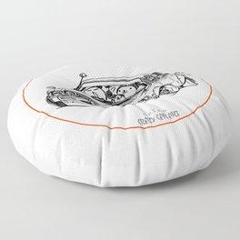 Crazy Car Art 0224 Floor Pillow