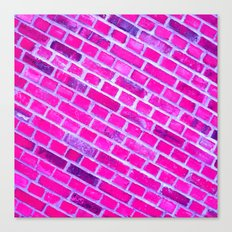 violet wall II Canvas Print