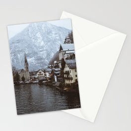 Winter in Hallstatt Stationery Cards