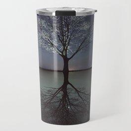 Mirrored Reality Travel Mug