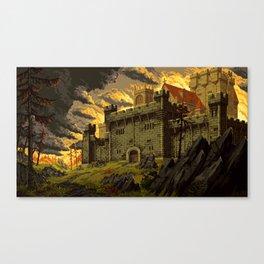 Dragon's Keep Canvas Print