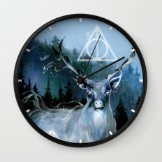My Patronus is a Stag Wall Clock