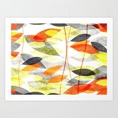 Foglie 10100401 Art Print