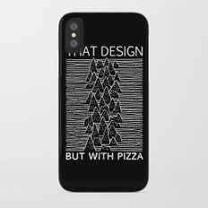 That Design but with Pizza iPhone X Slim Case