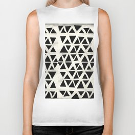 Tribal Geometric Biker Tank
