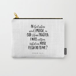 Psalm 54:4 - Bible Verse Carry-All Pouch