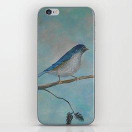 Bluebird of Happiness iPhone Skin