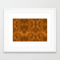 gold foil Framed Art Prints featuring Gold Foil 10 by Robin Curtiss