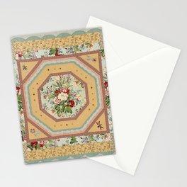 Octagonal Medallion Quilt Stationery Cards