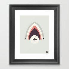 Dinner By Moonlight Framed Art Print