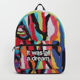 """It Was All A Dream"" Biggie Smalls Inspired Hip Hop Design Backpack"