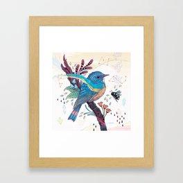 Bluetail Framed Art Print