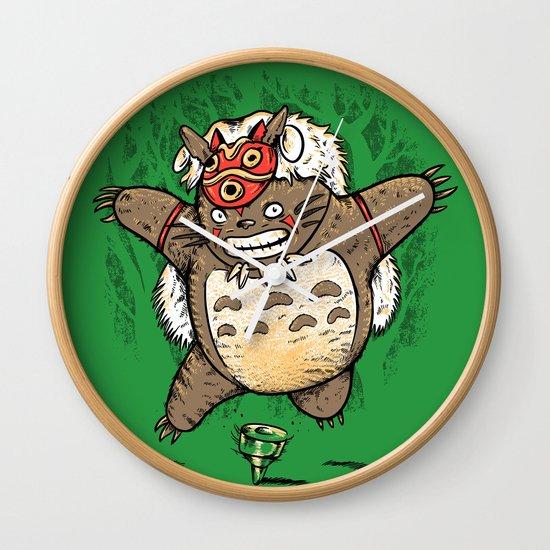 Totoroke Wall Clock