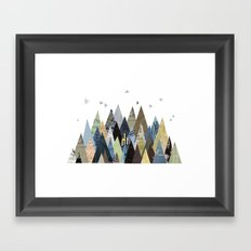 Mountain Dreaming Framed Art Print