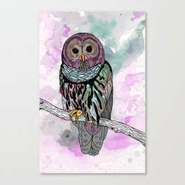 Mike The Magic Owl Canvas Print