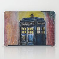 tardis iPad Cases featuring TARDIS by EricaWise