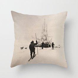 Vintage Explorers, 1894 Throw Pillow