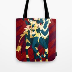 Pokemon gym leader Elesa Tote Bag