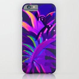 Tropical Sounds under Moon Light iPhone Case