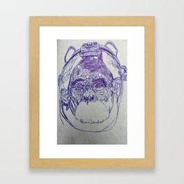 Space Monkey #2 Framed Art Print