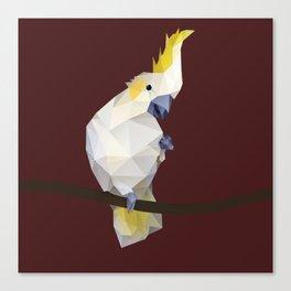 Cockatoo. Canvas Print