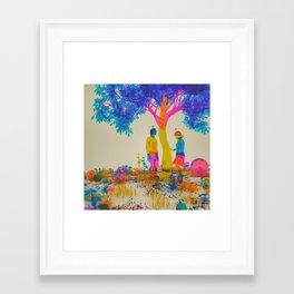 CMYK1964 (everyday 04.18.17) Framed Art Print