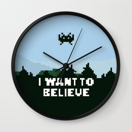 i want to believe. Wall Clock