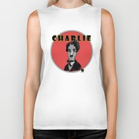 charlie Biker Tanks featuring Charlie by Todd A. Winter