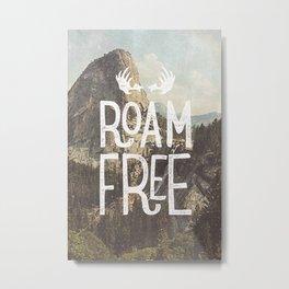 Roam Free - Yosemite Metal Print