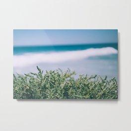 Ocean Dune Garden Metal Print