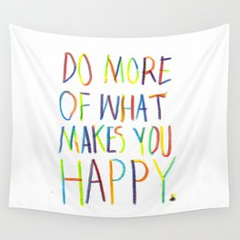 Positive Quote Wall Tapestry