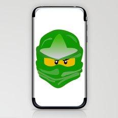 Ninjago face Lloyd  iPhone & iPod Skin