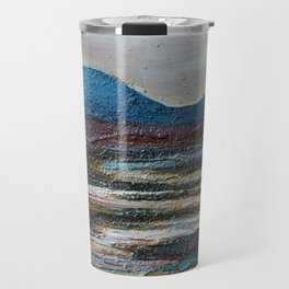 The bog river through Connemara, Ireland by Machale O'Neill Travel Mug