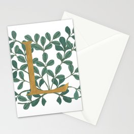 Forest Letter L Lite 2020 Stationery Cards
