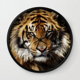Tiger, Tiger - Big Cat Art Design Wall Clock