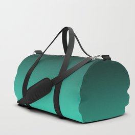 Turquoise Ombre. Duffle Bag