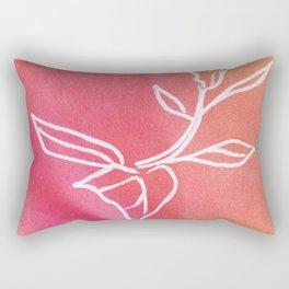 Floral No.22 Rectangular Pillow