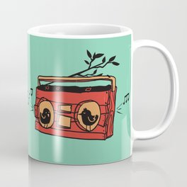 Nature's boombox Coffee Mug