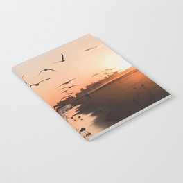 Seagulls and Sunset Notebook