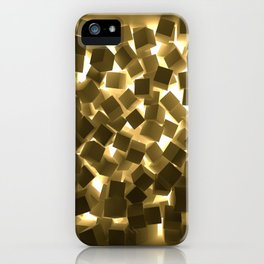 3D What Burns in Your Box? iPhone Case