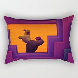 Cactus Courtyard 1 Rectangular Pillow