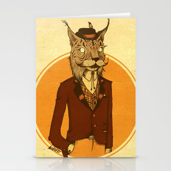 {Bosque Animal} Lince Stationery Cards