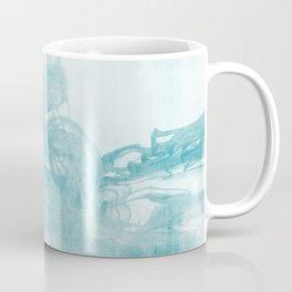 Ink Spot No. 2   Turquoise Coffee Mug
