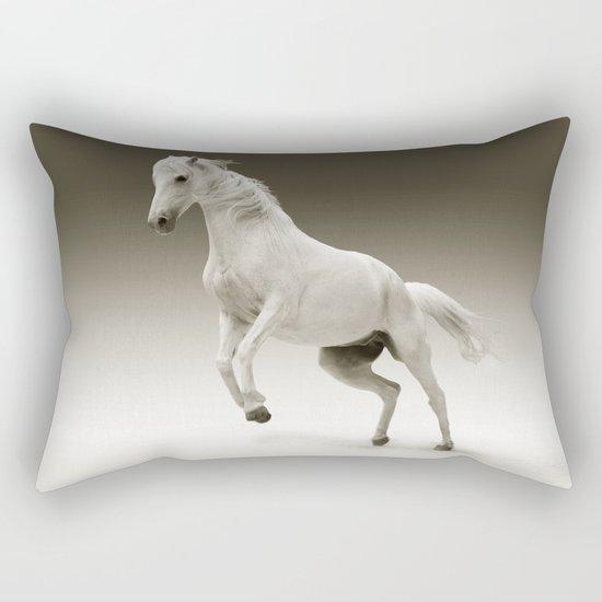 Magestic Horse Rectangular Pillow