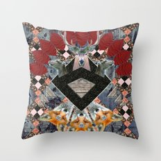 ▲ NAWKAW ▲ Throw Pillow