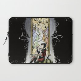 """You're Running out of time, my dear."" - Twisted Wonderland Laptop Sleeve"
