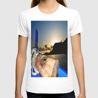 sunrise T-shirts featuring sunrise by  Agostino Lo Coco