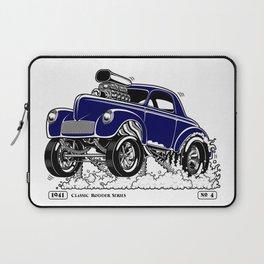 1941 WILLYS Classic Rodder - Blue Laptop Sleeve